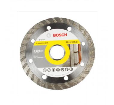 Disco Bosch 105x20mm Liso