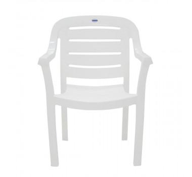 Cadeira Plastica Tramontina Miami Branca