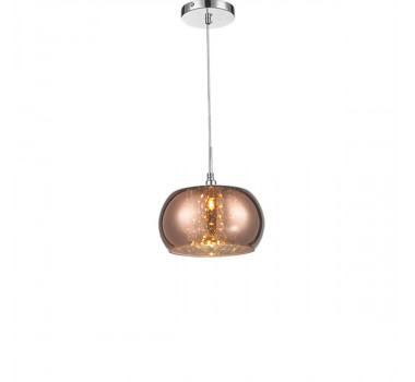 PENDENTE LED CHANDELIE SIDNEY G9 METALIZADO COBRE 1LAMP