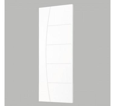 Porta Fort Branca C/ Relevo 2,10x80 Ref 02