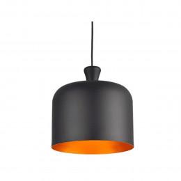 Luminaria Avant Pendente Bell Preto 280mm