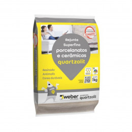 Rejunte Quartzolit Porcelanato 5 Kg Cz Platina