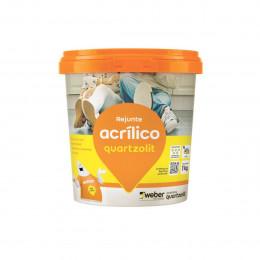 Rejunte Quartzolit Acrilico 1kg Branco