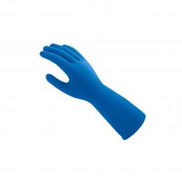 Luva Latex Mucambo Azul G