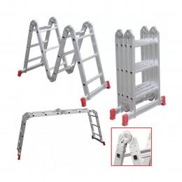 Escada Aluminio Botafogo Articulada 3x4d