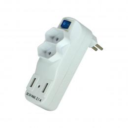 ADAPTADOR EXATRON 2 TOM + 2 USB
