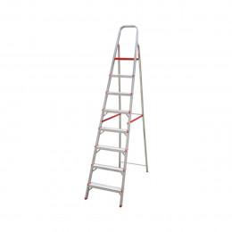 Escada Aluminio Botafogo 8 Degraus
