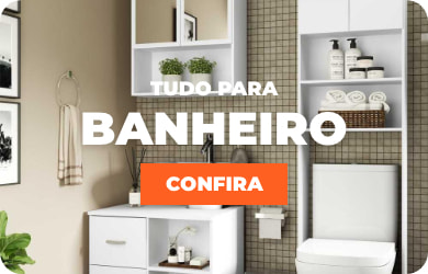 Banner trio - Tudo para banheiro