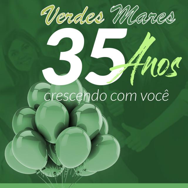 35 anos Verdes Mares